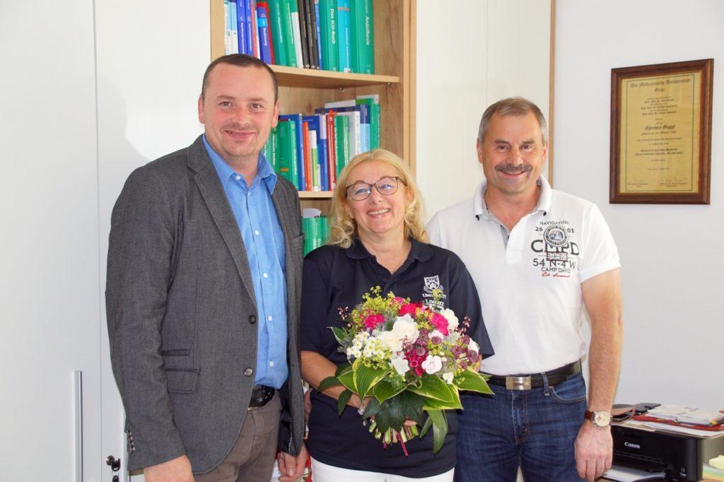 Besuch von Bürgermeister Christian Wolf
